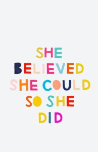 She believe quote